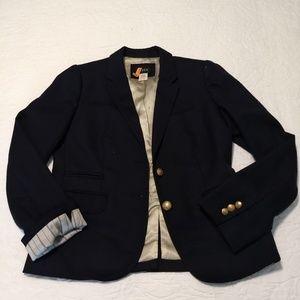 JCrew Wool Navy Blazer